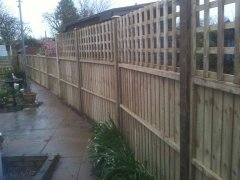 Fence Installation - Completed